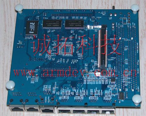 mpc8247 mpc8248 开发板背面