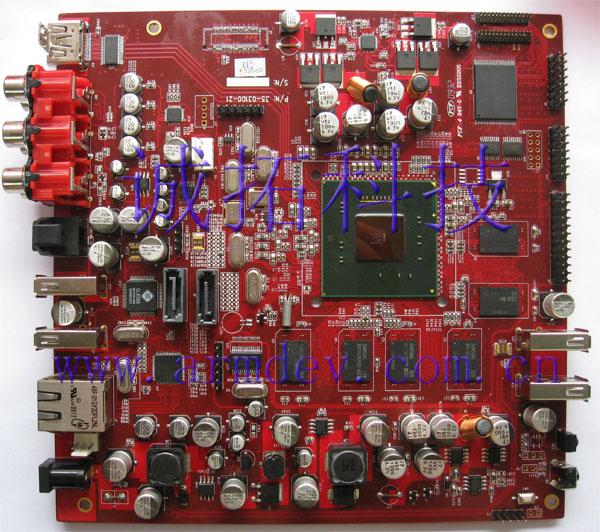 intel CE3100 1080P 硬件芯片解码 全高清