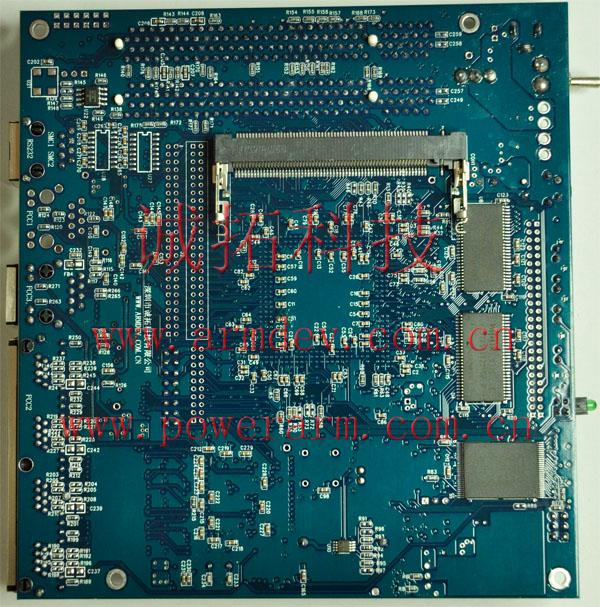 mpc8270 mpc8280 开发板背面