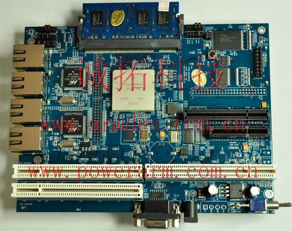 MPC8543 MPC8545 MPC8547 MPC8548开发板